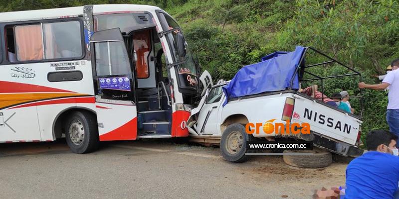Accidente en Las Cochas, Catacocha, deja 4 personas fallecidas