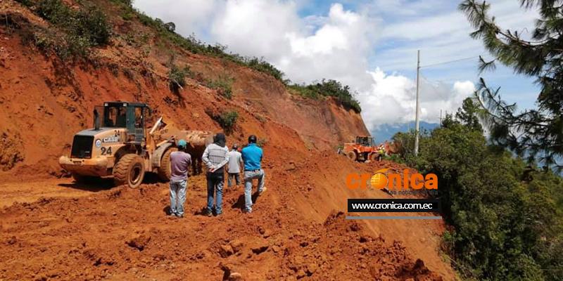 Vías rurales son afectadas por las lluvias.