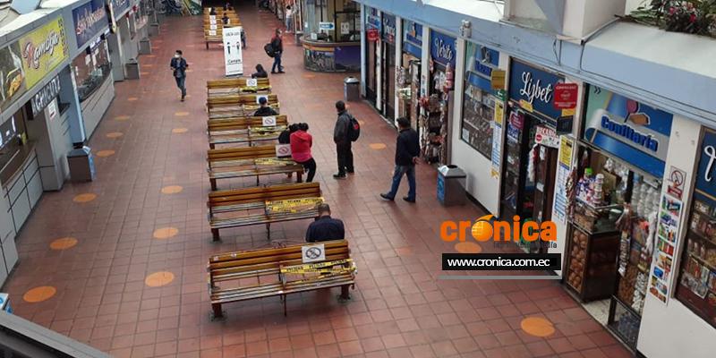 Terminal Terrestre Reina del Cisne, de la ciudad de Loja