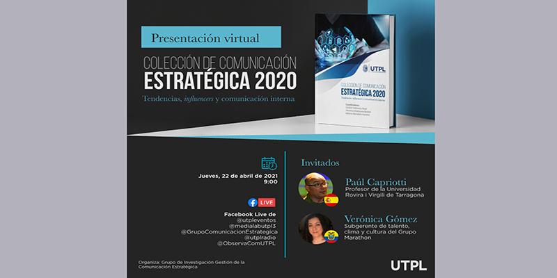 Colección Comunicación Estratégica 2020: Tendencias, influencers y comunicación interna