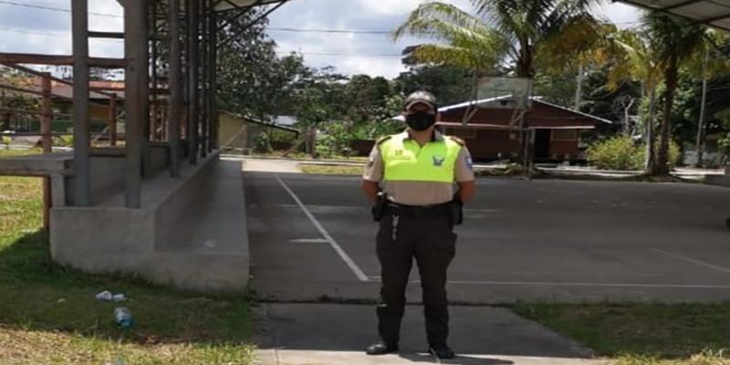 Resguardo policial y militar listos para los comicios del 11 de abril.