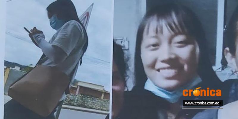 La joven Lou Yaoyu de nacionalidad china está desaparecida