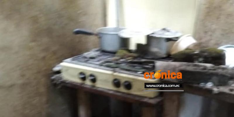 Falla en una manguera provocó daños en una cocina tras explosión.
